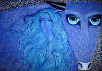 Kultur, Augen, Entführung, Blau