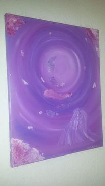 Licht, Engel, Frieden, Malerei