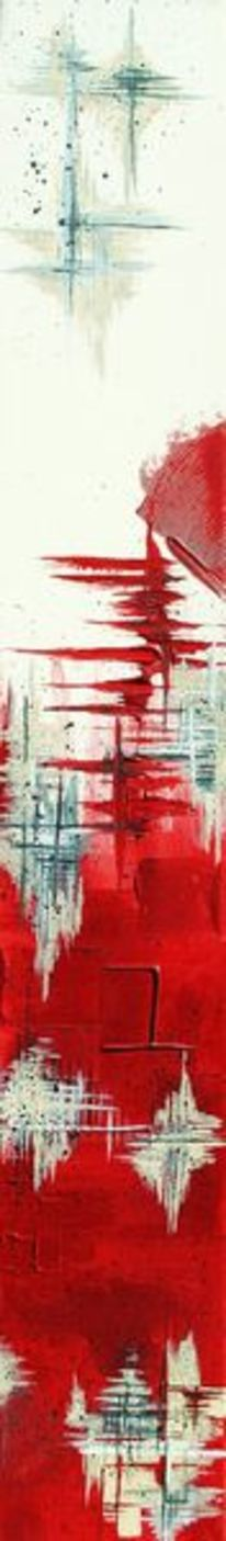 Kontrast, Lebendig, Rot schwarz, Weiß