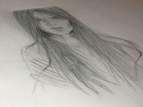 Menschen, Frau, Model, Zeichnungen