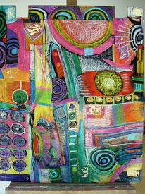 Acrylmalerei, 2013, Mischtechnik, Malerei