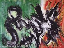 Modern, Malen, Acrylmalerei, Gemälde