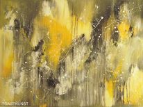 Gedanken, Acrylmalerei, Zeitgenössische kunst, Pinsel