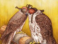 Greifvogel, Vogel, Sakerflke, Falke