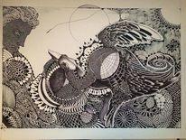 Vogel, Tiere, Abstrakt, Menschen