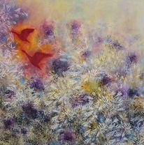 Traum, Acrylmalerei, Blumen, Malerei