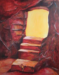Licht, Illusion, Hoffnung, Acrylmalerei