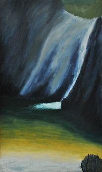 Wasser, Wasserfall, Kühl, Rhodos