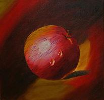 Malerei, Apfel
