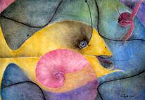 Fische, Malerei, Fisch