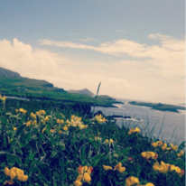 Irland, Landschaft, Aussicht, Meer