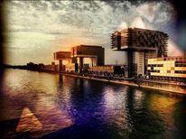 Gebäude, Wasser, Stadt, Ufer