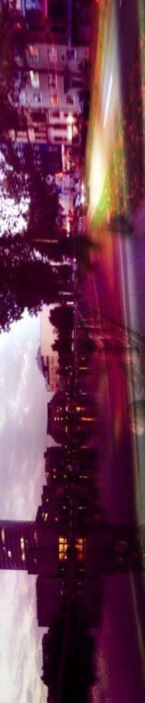 Streets, Schicht, Stadt, Holga