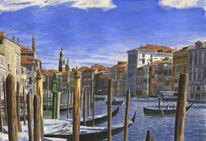 Venezia, Licht, Gemälde, Realismus