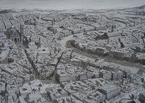 Realismus, Rom, Tusche, Verkehr