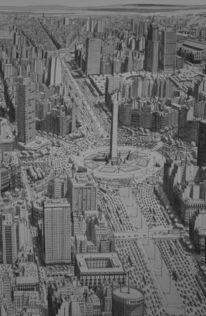 Realismus, Boulevard, Amerika, Stadt