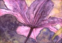 Licht, Pflanzen, Blätter, Tusche