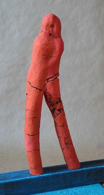 Mann, Gefühlswelt, Frau, Skulptur