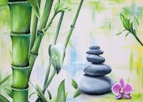 Enspannung, Bambus, Meditation, Steineberg