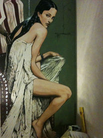 Hamam, Wandmalerei, Malerei