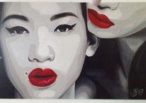 Malerei, Rouge