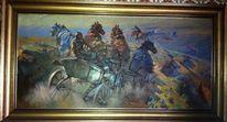 Schlachtgemälde, Udssr, Grekov, Russland