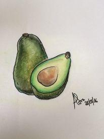 Bunt, Essen, Avocado, Pflanzen