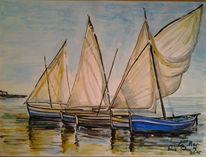 Malerei, 2015, Mer