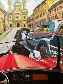 Speyer, Auto, Dom, Malerei