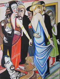 Tango, 2013, Malerei,