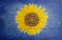 Energie, Gold, Flower of life, Spirituell