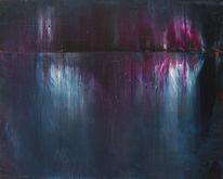 Gemälde, Richter, Rakeltechnik, Acrylmalerei