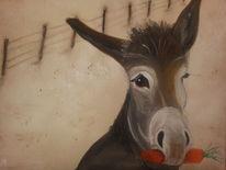 Malerei, Esel
