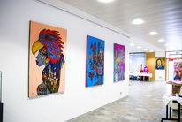Freundlich, Ausstellung, Malerei, Gesicht
