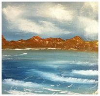 Meer, Möwe, Landschaft, Wasser