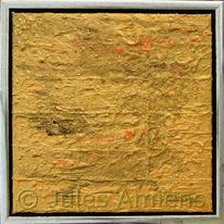 Gold, Quadrat, Rahmen, Malerei