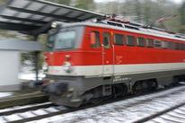 Schnell, Stadt, Station, Kalt