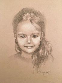 Kinderportrait, Portrait, Yang, Zeichnungen