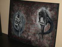 Acrylmalerei, Horror, Malerei