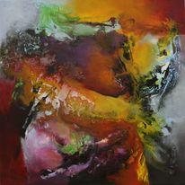 Modern, Abstrakt, Malerei, 2014