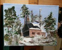 Büschkapelle, Eifel, Malerei