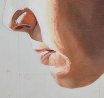 Nase, Lippen, Kinn, Mund