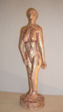 Pastik, Ton, Skulptur, Glasur