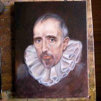 Ölmalerei, Portrait, Alte meister, Malerei