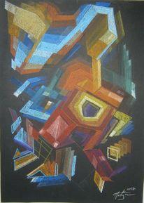 Abstrakt, Zeichnung, Modern, Zeichnungen