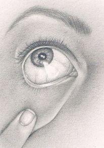 Achtsamkeit, Sehen, Zeichnung, Zeichnungen