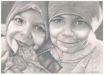 Zeichnung, Portrait, Realismus, Zeichnungen