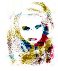 Portrait, Mensch, Gesicht, Frau