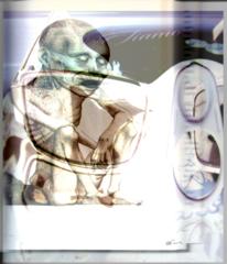 Dante, Brille, Schokolade, Digitale kunst