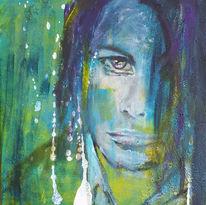 Blau, Gesicht, Mann, Augen